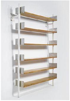 Frederick Kiesler Bookshelves