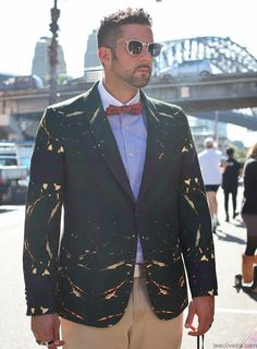 Men at Australia Fashion Week #mbfwa #streetstyle #mensfashion