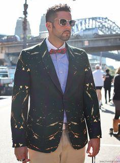 Men at Australia Fashion Week #mbfwa #streetstyle #mensfashion