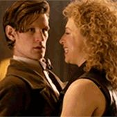 """""""'I think River's too independent to ever be a full-time companion,' Smith says. 'That's what makes River great as a character. … The companions and the Doctor are doing their thing, then whoosh—in comes the hair. It just messes the Doctor up."""" — Matt Smith"""