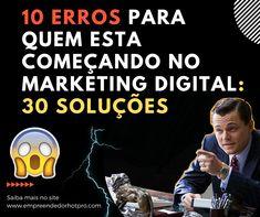 10 Erros Para Quem Esta Começando No Marketing Digital: 30 Soluções Marketing Digital, 30, Bugs
