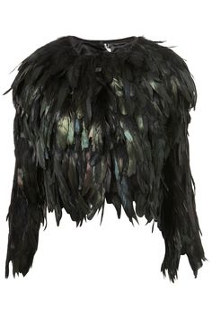 .I want this feather jacket in my life