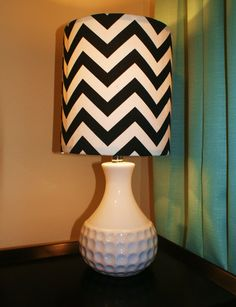 Chevron lamp<3
