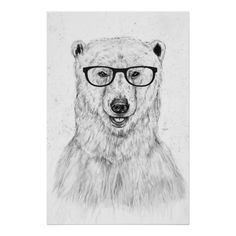Geek bear poster