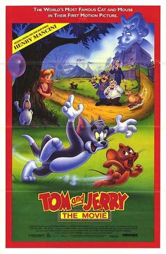 Tom and Jerry: The Movie (1992) Tom and Jerry: The Movie is one of my very good animated movies ever when I was a teenager.   Movie is about the twosome trying to help an orphan girl who is being berated and exploited by a greedy guardian.   The world's most famous cat and mouse in their first motion picture.   Descriptons for Tom and Jerry the Movie includes Funny, Smart, Cool, and Silly. ...