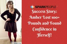 Amber Lost 100+ Pounds and Found Confidence in Herself.* Read about Amber's amazing success story! | via @SparkPeople