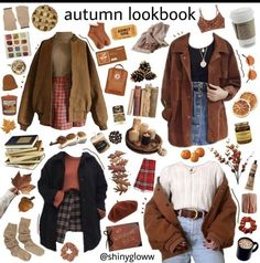 Speichern = folgen - New Ideas Mode Outfits, Retro Outfits, Fall Outfits, Vintage Outfits, Casual Outfits, Fashion Outfits, Aesthetic Fashion, Aesthetic Clothes, Mode Grunge