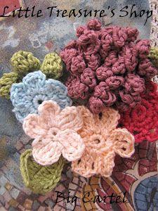Forget me not - {a crochet flower pattern}
