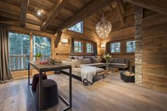 Contemporary alpine chic chalet for vacation rental | Crans Montana, Switzerland