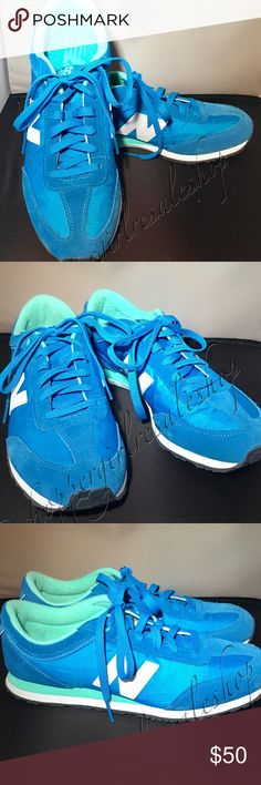 🎉⚡️JUST ADDED!⚡️🎉 Women's NB Sneakers, 9.5🦋 👟💯Authentic. 💥LIKE NEW💥 Women's turquoise NEW BALANCE Sneakers, size 9.5. Excellent condition, super comfy with mint green interior.      ~Thanks for shopping by 😉 and taking a look. ❗️**Please N🚫 Trades, N🚫 Holds, N🚫 Low Ball offers.** ❗️Thank you!**👜👗👠👛👟💄🛍 {Smoke-Free Home!} New Balance Shoes Sneakers