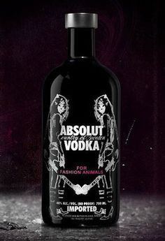 Absolut Vodka limited bottles