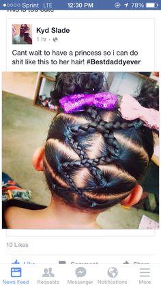 Kids hair Little girl style Braids