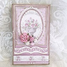 We just love the dusty rose in our new collection Where the Roses Grow! #pion #piondesign #piondesignab #pionpapers #paper #papercraft #vintage #vintagepapers #vintagepapersmadeinsweden #scrapbook #scrapbooking #scrap #wheretherosesgrow #card