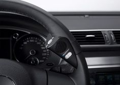 The compact Blaupunkt BT Drive Free 411 steering wheel mount Bluetooth hands-free speakerphone system for vehicles, enables drivers to use their cell phones in… High Tech Gadgets, Car Gadgets, Electronics Gadgets, Technology Gadgets, Bluetooth Gadgets, Bluetooth Remote, Futuristic Technology, Cool Tech, Car Accessories