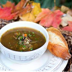 Savoring Time in the Kitchen: Mushroom and Barley Soup