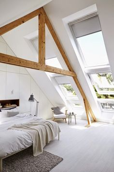 Coastal Style Good use of an A-frame