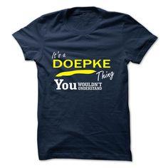 [Best Tshirt name origin] DOEPKE Discount Today Hoodies, Funny Tee Shirts