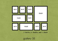photo wall layout deco-ideas