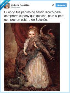 Traumas infantiles para el que los quiera por @Medievalico   Gracias a http://www.vistoenlasredes.com/   Si quieres leer la noticia completa visita: http://www.estoy-aburrido.com/traumas-infantiles-para-el-que-los-quiera-por-medievalico/