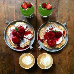 Symmetry Breakfast – Il prépare chaque jour de jolis petits déjeuners pour son amoureux (image)