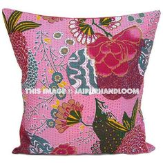 #kanthapillows #kanthacushion #indianpillows #handmadecushion #floralpillows #extralargepillows #24inchescushion #16inchescushion #16inchespillow #indiancushion #floorcushion #sofacouchpillows #patiochaircushion #bedroomcushion #squarepilllows #16inchescushion Sofa Throw Pillows, Large Pillows, Handmade Cushions, Decorative Throw Pillows, Tapestry Bedding, Wall Tapestries, Pink Pillow Covers, Indian Pillows, Floral Cushions