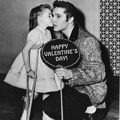 Elvis and his secret valentine, Gimpy Sue.