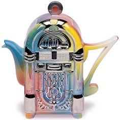 Müzik Kutusu DEMLİK - teapot For the tea party! Coffee Server, Coffee Cups, Teapots Unique, Vintage Teapots, Teapots And Cups, Teacups, Ideas Prácticas, Chocolate Pots, Tea Cakes