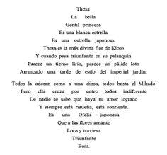 Vicente huidobro. Triángulo armónico, caligrama realizado por Vicente Huidobro y publicado en su libro Canciones en la Noche (1913).