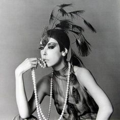 Peggy Moffit; #peacock