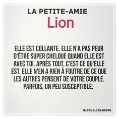 parfois non non toujours Signe Astro Lion, Photo Stitch, Leo Love, Leo Zodiac, Messages, Signs, Horoscopes, Minions, Haha