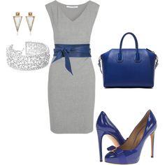 Vestido formal.- Los colores convinan perfecto!