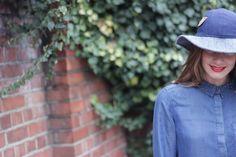 Winter LULU - The Brim Label Indigo, Winter Hats, Label, Collection, Fashion, Moda, Indigo Dye, Fashion Styles, Fashion Illustrations