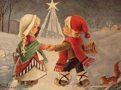 Las primeras felicitaciones de España.     En los días anteriores a las fiestas de Navidad todos los que en algún momento del año habían pre...
