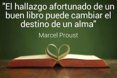 El hallazgo afortunado de un buen #libro puede cambiar el destino de un #alma