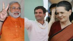 LS polls: Modi in firing line of Sonia, Rahul, Priyanka