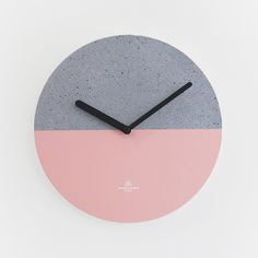 #OBJECTCLOCK_CONCRETE-PINK #OBJECTCLOCK #clock #pink #design #secondmansion #시계 #핑크 #디자인 #디자인무누 #오브젝트클락 #세컨드맨션