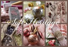 Christmas Trend Group :: Trend 2014 – Soft Heritage - A slightly faded sheen and charm settles gently like a fairy over products in pale to dark shades of pink. Time almost seems to stop for a moment when photo prints of baroque cherubs adorn textile accessories, serviettes or gift-wrapping paper.