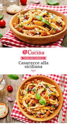 Casarecce alla siciliana
