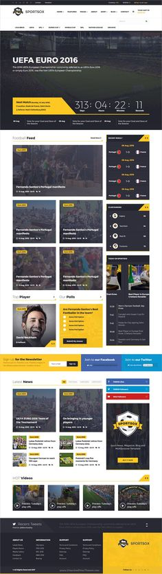 Sportsox is an awesome design 2in1 responsive #HTML bootstrap template for #sports, #football, #soccer Club websites with fixtures, point table, tournament history, player profile and much more download now➩ https://themeforest.net/item/sportsox-sport-team-clubs-html-template/19292030?ref=Datasata