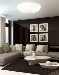 Kleines Wohnzimmer Essecke Beige Braun Afrika Wanddeko Beleuchtung Ideen |  Wohnen | Pinterest | Living Rooms, Room And Interiors