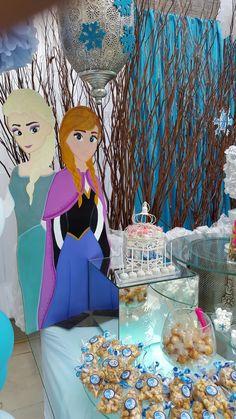 Princesa Ana y Elsa