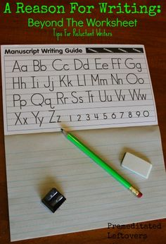 If your child struggles with writing, try some of these easy, creative tips to improve your children's writing, build motor skills, and make writing fun.
