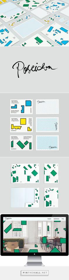 New Brand Identity for Poseidon Helsinki designed by Kokoro & Moi.