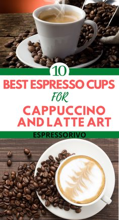 From classic and charming porcelain sets to edgy and modern designs, here are our top picks for the best espresso cups.  Visit our website see then all… #Cappuccinoandlatteart #Latteartcoffee #Espressocupsforcappuccino #Espressorivo Latte Cups, Cappuccino Cups, Espresso Cups, Best Coffee Maker, Best Espresso, Latte Art, Porcelain, Website, Tableware