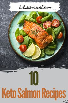 Try these amazingly easy keto salmon recipes now! Be captivated by these low-carb recipes and make these ketogenic salmon meals guilt-free. Catch the recipes on this pin! Salmon Meals, Keto Salmon, Salmon With Avocado Salsa, Baked Salmon Recipes, Salmon And Asparagus, Salmon Dinner, Diet Dinner Recipes, Keto Dinner, Lunch Recipes