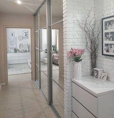 Bedroom Closet Design, Home Room Design, Home Office Design, Home Interior Design, Home Bedroom, House Design, Ikea Decor, Entryway Decor, Room Decor