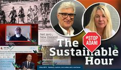 A Sustainable Hour around cycling without helmets, road safety, zero carbon, cyclones, coal and climate change –and a butterfly whisperer who laughs in our face about the prospect of him facing a climate crimes tribunal. 3 May 2017