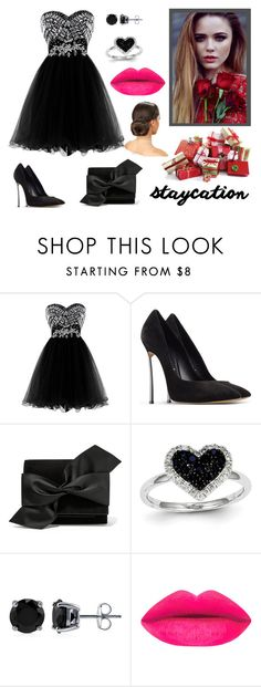 """""""Untitled #2"""" by melisa-fehric ❤ liked on Polyvore featuring Casadei, Victoria Beckham, Kevin Jewelers and BERRICLE"""