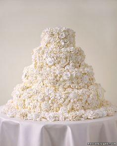 Wedding Ideas: wedding-cakes-floral