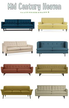 Mid Century Modern Sofas
